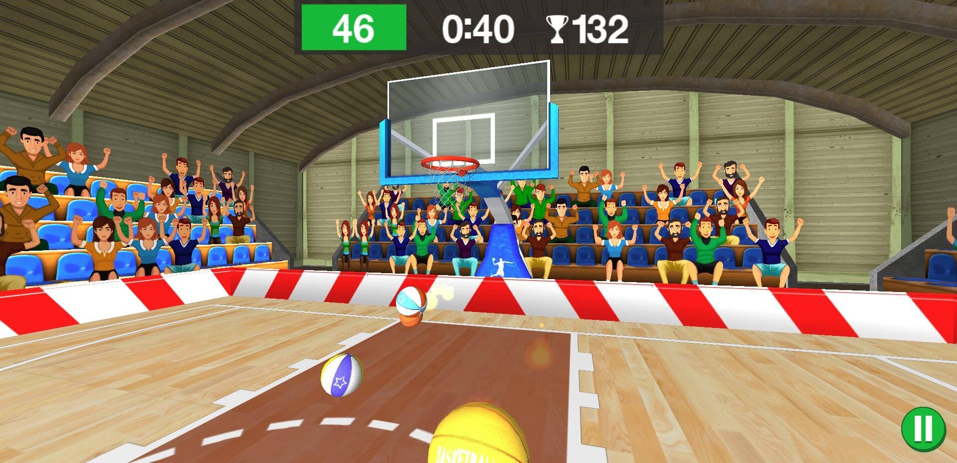 راهنمای بازی آنلاین بسکتبال سه بعدی