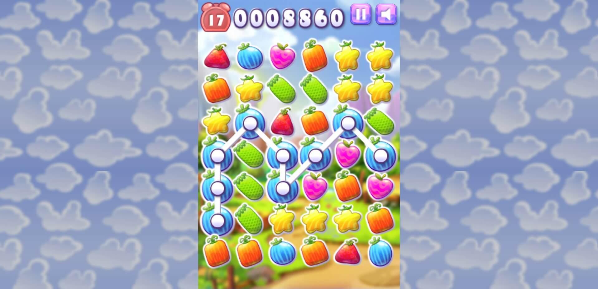 راهنمای بازی آنلاین Fruit Crush Frenzy