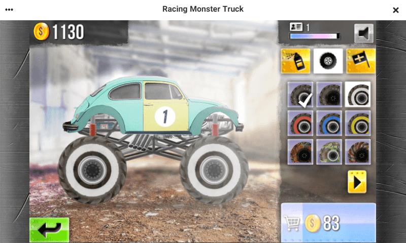 راهنمای بازی آنلاین مسابقه کامیونهای هیولا